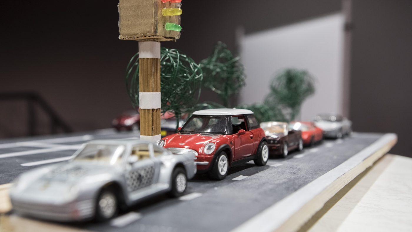 Parkplatzampel