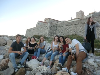 Gruppenbild in Antibes