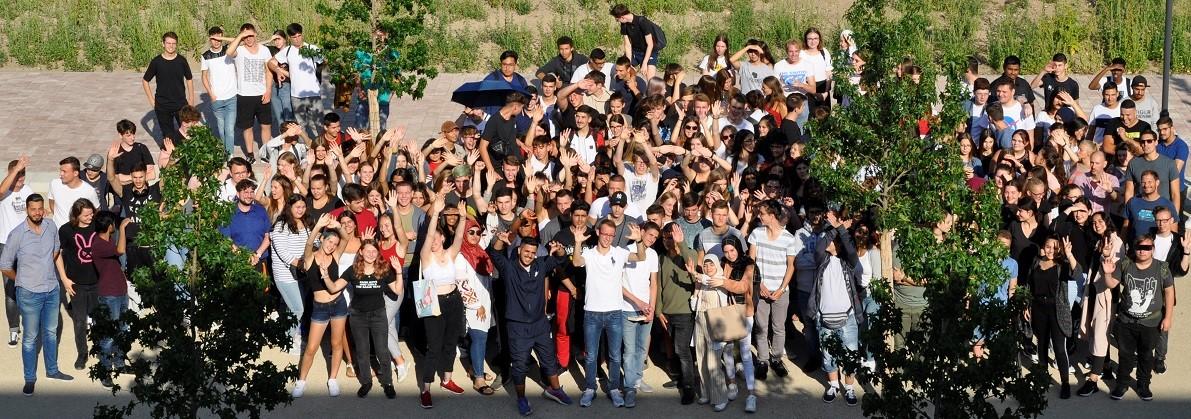 Schülerinnen und Schüler der GHS