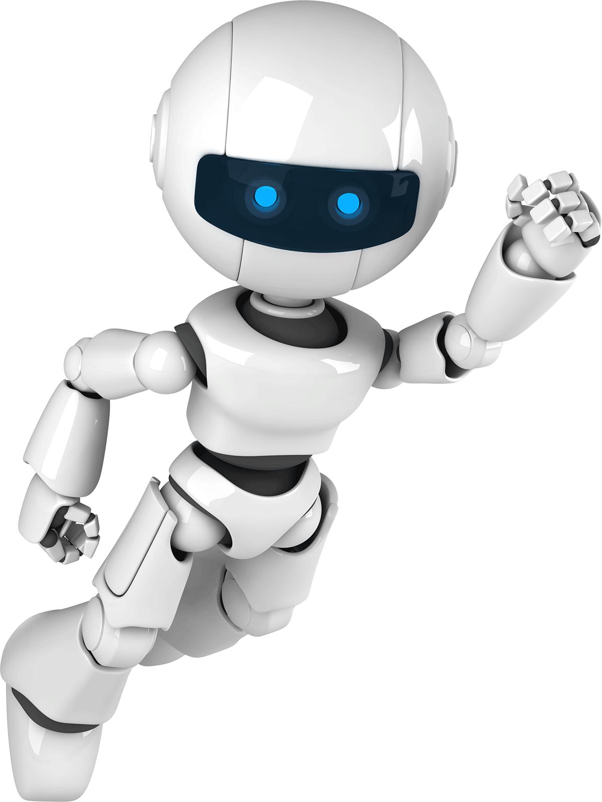 fliegender Roboter